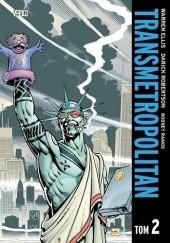 Okładka książki Transmetropolitan - Tom 2 Warren Ellis,Darick Robertson
