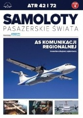 Okładka książki ATR 42 i 72 - As komunikacji regionalnej Grzegorz Strumyk