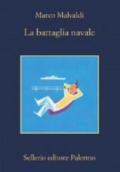 Okładka książki La battaglia navale Marco Malvaldi