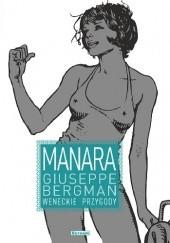 Okładka książki Giuseppe Bergman. Weneckie przygody