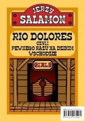 Okładka książki Rio Dolores, czyli pewnego razu na Dzikim Wschodzie Jerzy Salamon