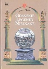 Okładka książki Gdańskie legendy nieznane Jerzy Samp