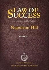 Okładka książki The Law of Success Napoleon Hill