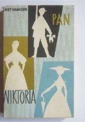 Okładka książki Pan. Wiktoria Knut Hamsun