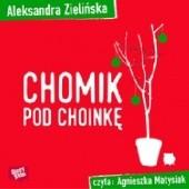Okładka książki Chomik pod choinkę Aleksandra Zielińska