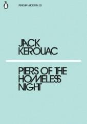Okładka książki Piers of the homeless night Jack Kerouac