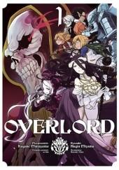 Okładka książki Overlord #1 Maruyama Kugane,Fugin Miyama