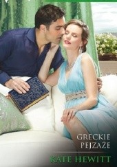 Okładka książki Greckie pejzaże Kate Hewitt