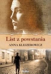Okładka książki List z powstania Anna Klejzerowicz