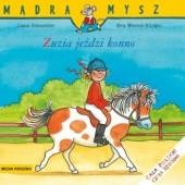 Okładka książki Zuzia jeździ konno Eva Wenzel-Bürger,Liane Schneider