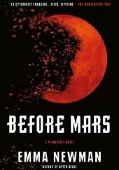 Okładka książki Before Mars Emma Newman