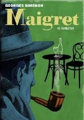 Okładka książki Maigret på semester Georges Simenon