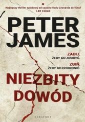 Okładka książki Niezbity dowód Peter James
