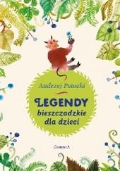 Okładka książki Legendy Bieszczadzkie dla dzieci Andrzej Potocki