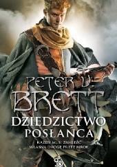 Okładka książki Dziedzictwo posłańca Peter V. Brett