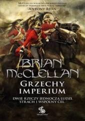 Okładka książki Grzechy Imperium Brian McClellan