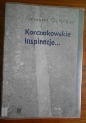 Okładka książki Korczakowskie inspiracje Antonina Gurycka