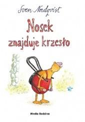 Okładka książki Nosek znajduje krzesło Sven Nordqvist
