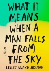 Okładka książki What It Means When a Man Falls from the Sky Lesley Nneka Arimah