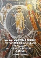 Okładka książki Freski i malowidła ścinne. Przewodnik po kościołach w Muzeum na Otwartym Powietrzu Göreme Agata E. KUMPINAR