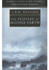 Okładka książki The Peoples of Middle-earth J.R.R. Tolkien