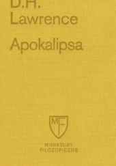 Okładka książki Apokalipsa David Herbert Lawrence