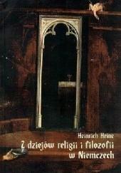 Okładka książki Z dziejów religii i filozofii w Niemczech Heinrich Heine