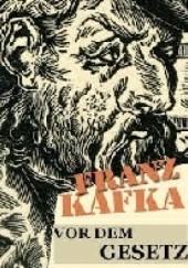 Okładka książki Przed Prawem Franz Kafka