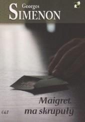 Okładka książki Maigret ma skrupuły Georges Simenon