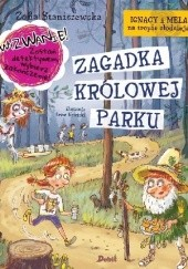 Okładka książki Zagadka Królowej Parku Zofia Staniszewska