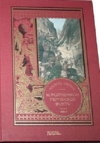 Okładka książki W płomieniach indyjskiego buntu - cz.2 Juliusz Verne