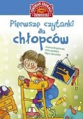 Okładka książki Pierwsze czytanki dla chłopców Irena Landau,Joanna Krzyżanek,Edyta Zarębska