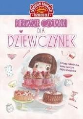 Okładka książki Pierwsze czytanki dla dziewczynek Liliana Fabisińska,Irena Landau,Edyta Zarębska