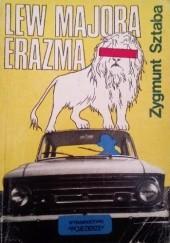 Okładka książki Lew majora Erazma Zygmunt Sztaba