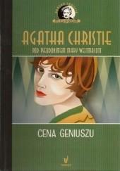 Okładka książki Cena geniuszu Agatha Christie