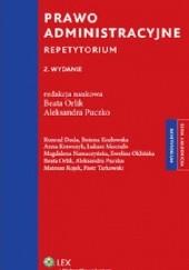 Okładka książki Prawo administracyjne. Repetytorium Aleksandra Puczko,Beata Orlik