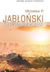 Okładka książki Kryptonim Psima Mirosław Piotr Jabłoński