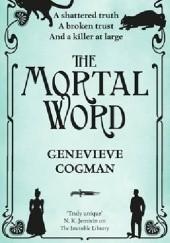 Okładka książki The Mortal Word Genevieve Cogman