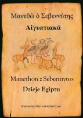 Okładka książki Dzieje Egiptu Manethon z Sebennytos