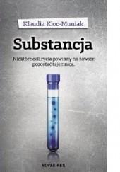 Okładka książki Substancja Klaudia Kloc-Muniak