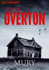 Okładka książki Mury Hollie Overton