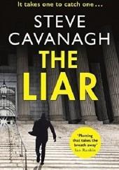 Okładka książki The Liar Steve Cavanagh