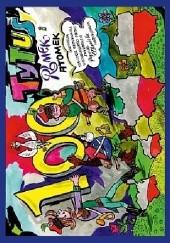 Okładka książki Tytus, Romek i A'Tomek obchodzą 100-lecie odzyskania niepodległości Polski z wyobraźni Papcia Chmiela narysowani Henryk Jerzy Chmielewski