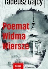 Okładka książki Poemat Widma. Wiersze Tadeusz Gajcy