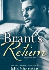 Okładka książki Brants Return Mia Sheridan