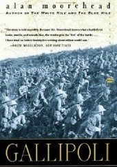 Okładka książki Gallipoli Alan Moorehead