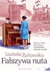 Okładka książki Fałszywa nuta Izabela Żukowska