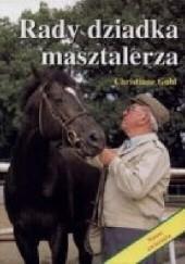 Okładka książki Rady dziadka masztalerza Christiane Gohl