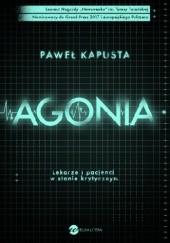 Okładka książki Agonia Paweł Kapusta