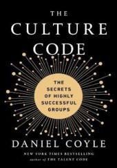 Okładka książki The Culture Code Daniel Coyle